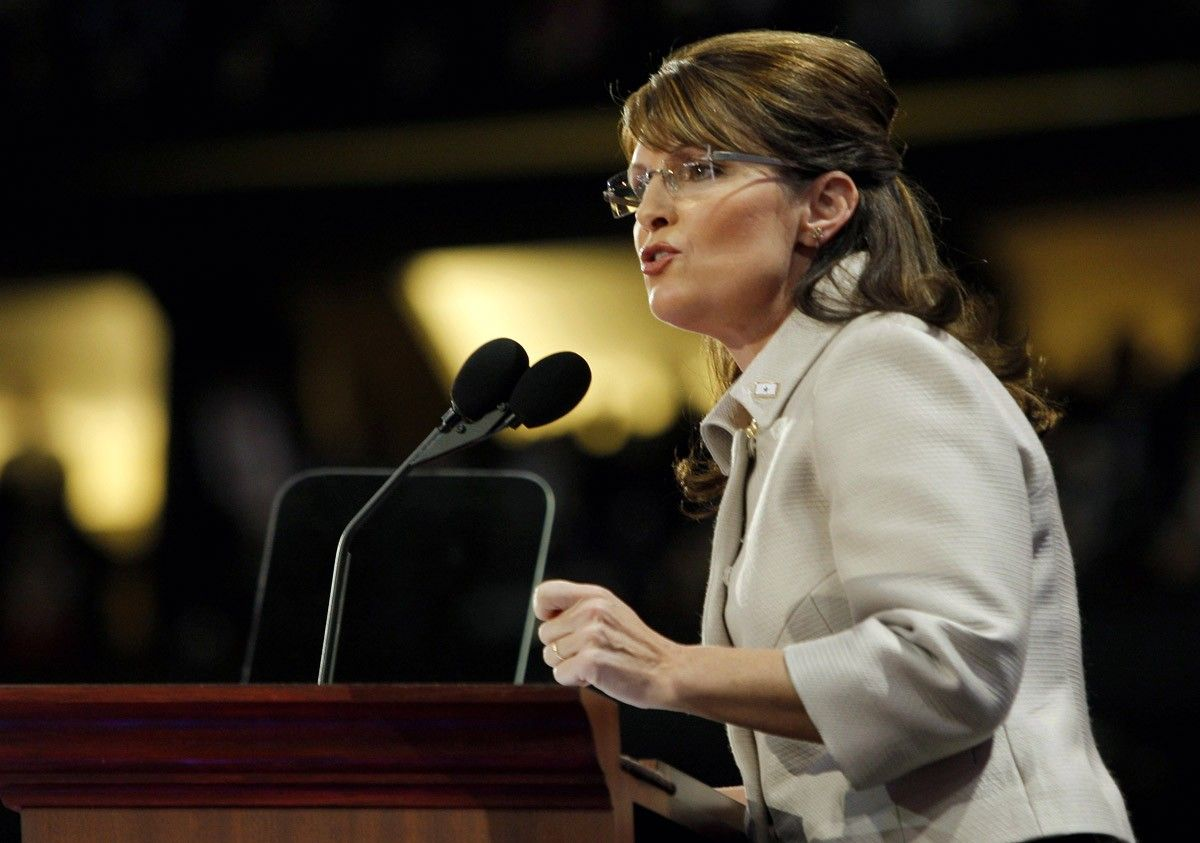05d958a9 Sarah Palin har brukt en million kroner i september på klær, hår og sminke.  Scanpix