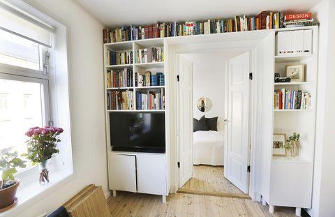 Den lille leiligheten fikk unikt interiør - Aftenposten