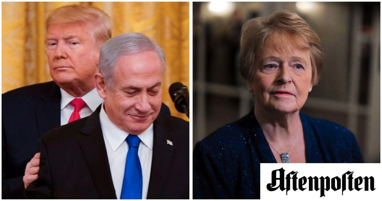 Vi er alvorlig bekymret over USAs plan for konflikten mellom Israel og Palestina   46 tidligere europeiske ledere