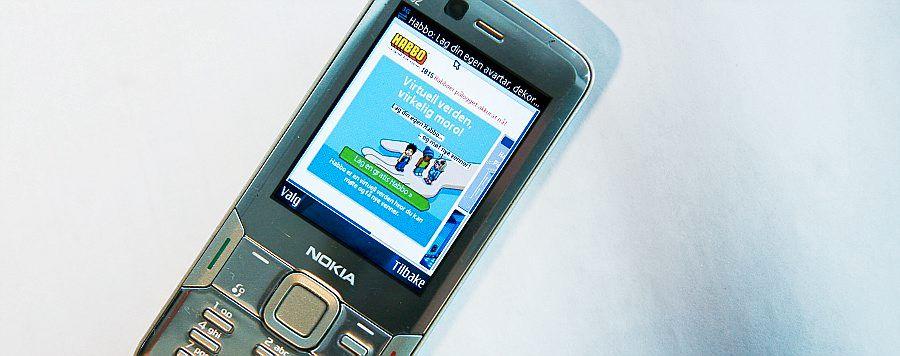 Mobiltelefon hekte til fasttelefon