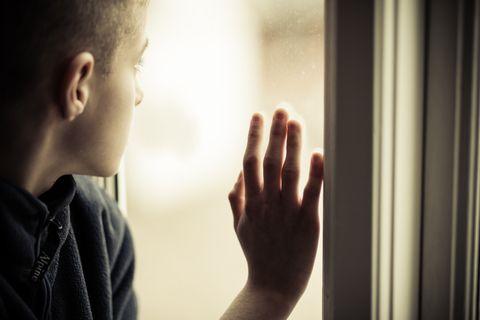 SAVN: Eg saknar pappa og veit ikkje når eg får sjå han igjen, skriv ung gut.