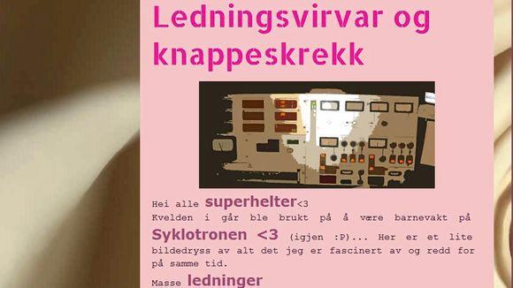 86e79996 Rosablogger og kjernefysiker lokker jenter til realfag - Aftenposten