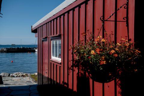 Uthuset blei i gamle dagar brukt til sauefjøs.