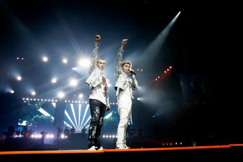 KOENGEN: Marcus og Martinus hadde konsert i Bergen i fjor!
