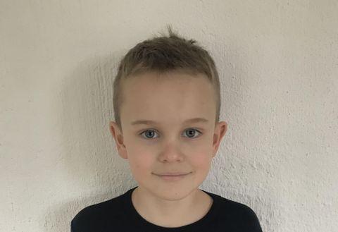 Sebastian (8), frå Radøy.