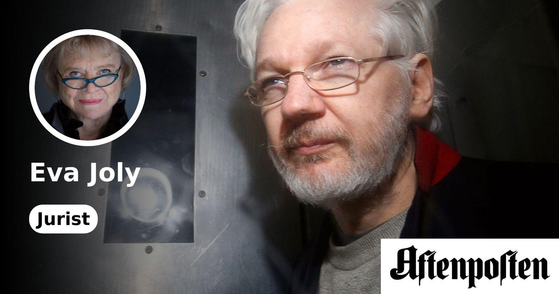 Julian Assange dør i Belmarsh-fengselet. Og vår ære dør med ham. | Eva Joly