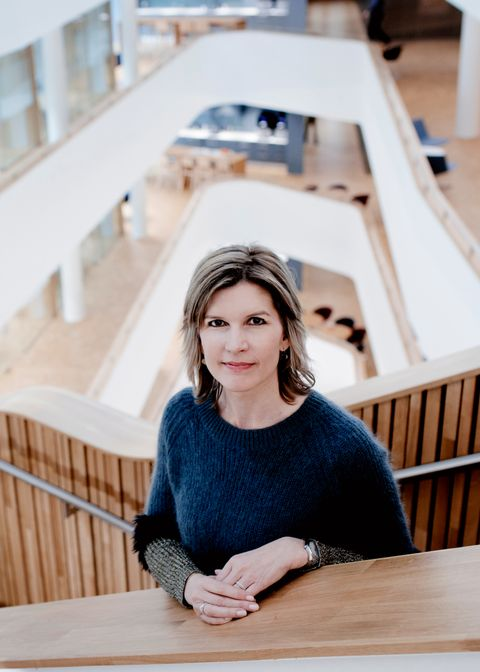 LEDER: BA, Adams matkasse og nå Eiendomsmegler Vest er noen av sjefsjobbene Veslemøy Tvedt Fredriksen har hatt siste årene. Det var ikke opplagt at det var sjef hun skulle bli.