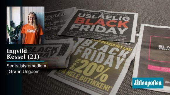 Groovy Black Friday: Det er både billigere og enklere å kjøpe en ny bukse TQ04