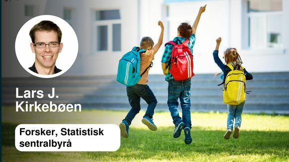 f4d1ce89 Hva vet vi om skoleresultater i Oslo? | Lars J. Kirkebøen - Aftenposten