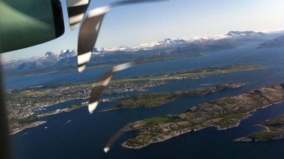 norsk flyplass kryssord