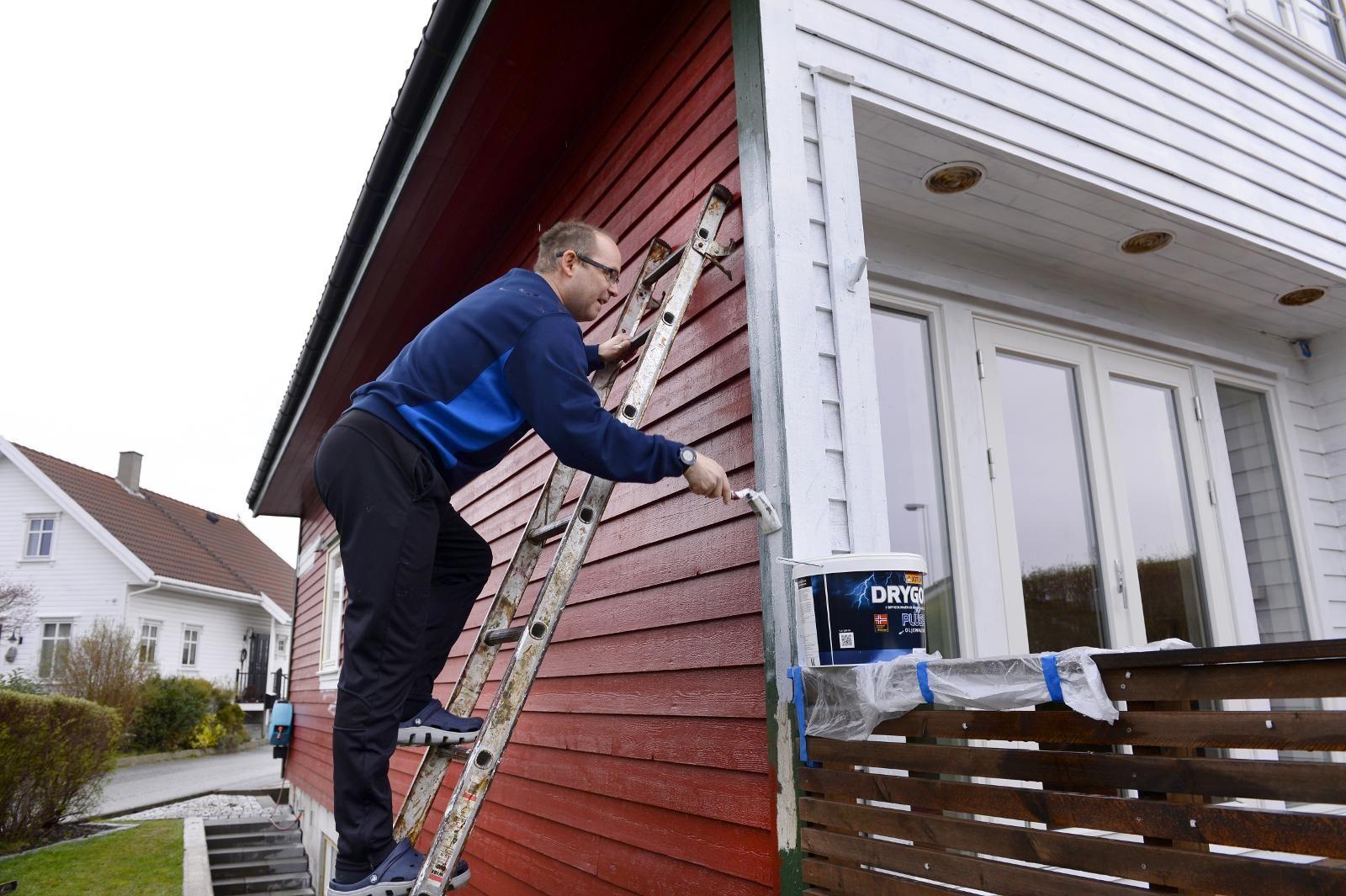 61fb6ff9 Hele byen males hvit - Stavanger Aftenblad