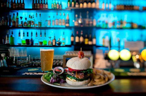 FYLLABURGER: En perfekt burger, mener BTs matanmelder, Amanda Bahl.