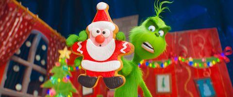 «GRINCHEN»: Filmen om Grinchen (grønn) er tillatt for alle.
