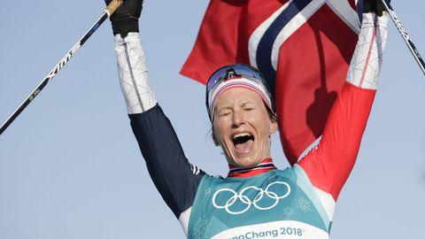 Marit Bjørgen er tidenes vinterolympier etter gullet på søndagens tremil.