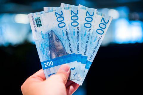 MYE PENGER: Regjeringen vil bruke 1325 milliarder kroner.