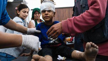 Minst seks sivile drept i rakettangrep: – Jeg regner med at det er mange flere døde