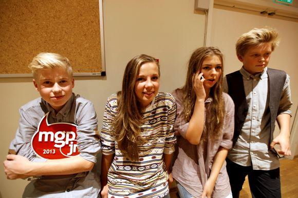 Unik 4 vant Melodi Grand Prix junior