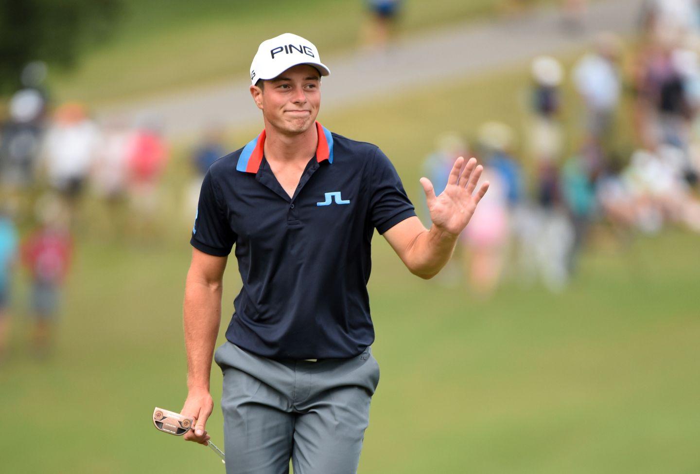 Hovland kan skrive golfhistorie: – Utrolig hva den gutten får til