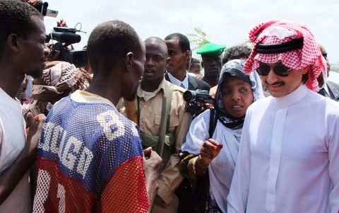 KJØPT: Prins Alwaleed bin Talal Alsaud eier nå en del av Snapchat.