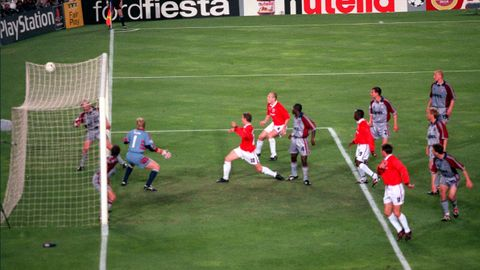 Etter 92 minutter og 17 sekunder av Champions League-finalen stakk Ole Gunnar Solskjær ut verdens beste stortå og scoret seiersmålet mot Bayern München.