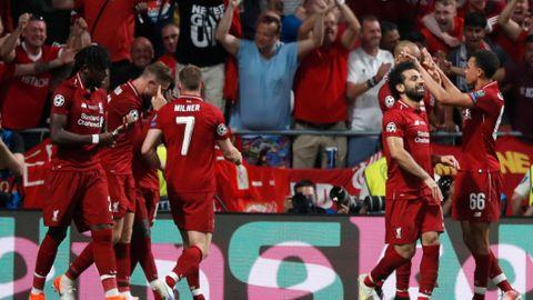 adb11655 Champions League-finalen direkte: Liverpool slo Tottenham 2–0 ...