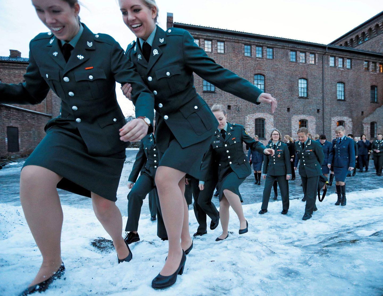 Tyske kvinner ikke flørte