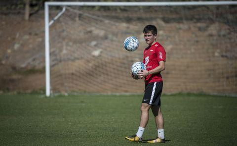 TALENT: Brann-spiller Marius Bildøy er en av mange unge, lovende spillere i bergensfotballen.