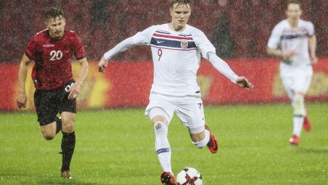 Martin Ødegaard har tydelig tatt nye steg som fotballspiller det siste året.
