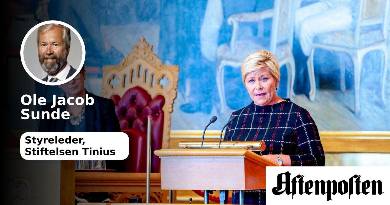 Norge som digital tilskuer | Ole Jacob Sunde