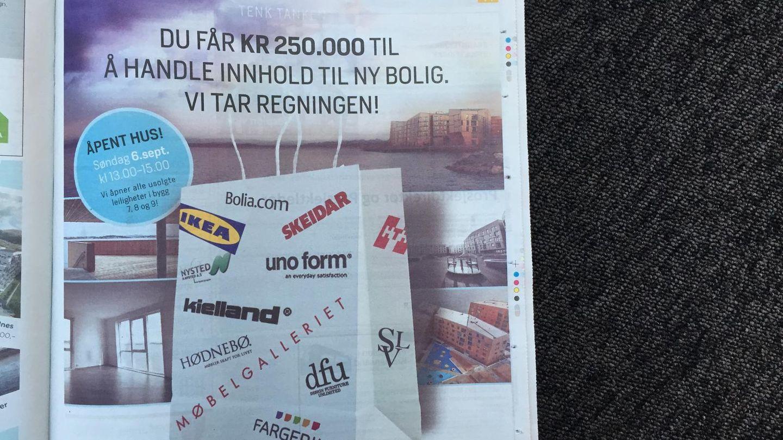 Lokker boligkjøpere med gratis møbler - Aftenbladet.no