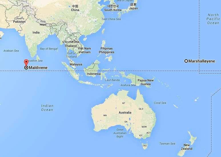 kart maldivene Teknologien som kan redde landet hans fra klimakatastrofe finnes  kart maldivene