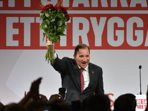 Stefan Löfven, statsminister i Sverige og leder for Socialdemokraterna.