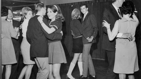 KLASSISK: Klassisk dansekveld på 1960-tallet – kanskje i «Kjøpmannen» i Fortunen?