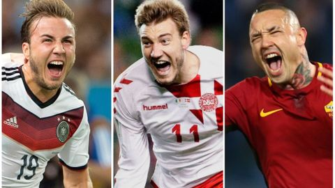 Mario Götze, Nicklas Bendtner og Radja Nainggolan skal ikke til Russland i juni/juli, med mindre de drar som turister.