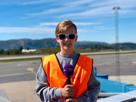 JUNIORREPORTER: Nikolai (13) er én av fem juniorreportere i BT Junior.