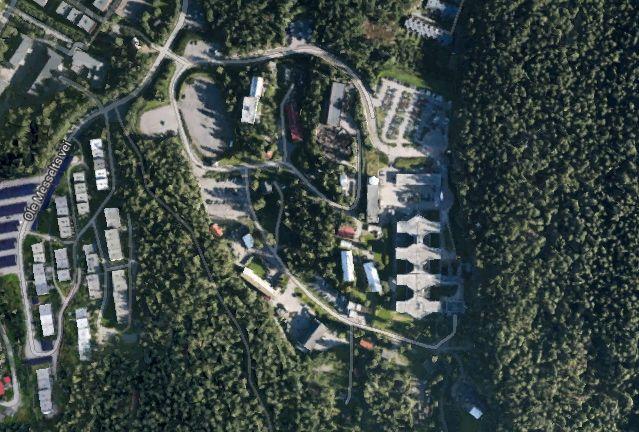 lutvann leir kart Google har lagt ut 3D bilder av Oslos forsvarsbygg   Aftenposten lutvann leir kart
