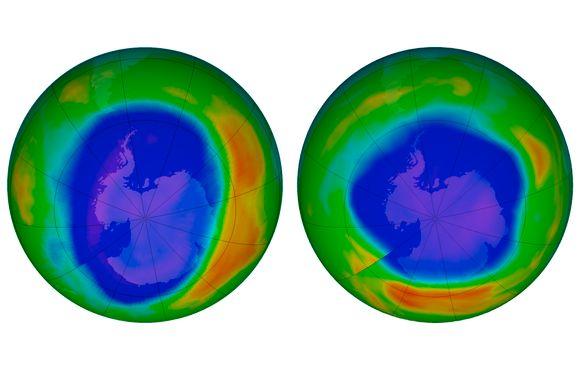 Verdenssamfunnet reddet ozonlaget for 30 år siden  Nå