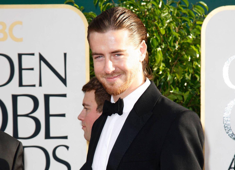 a81506f4 Hovedrolleinnehaver Pål Sverre Valheim Hagen ankommer Golden Globe- utdelingen på Beverly Hilton Hotel i Los Angeles.