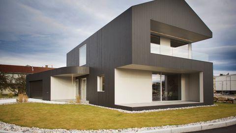 Idars hus er tegnet av hans arkitektsøster Marita Hamre.