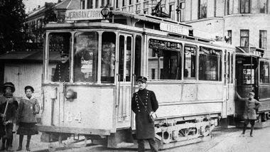 Oslos første fartsbot ble skrevet ut i 1894 – til Briskebytrikken.
