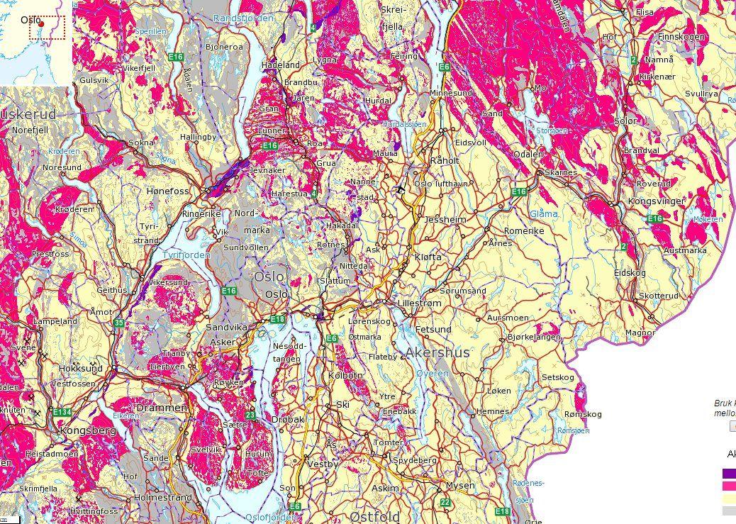 kart over radonforekomster i norge Utleiere skal måle radon i leiligheter   men ingen har oversikt  kart over radonforekomster i norge