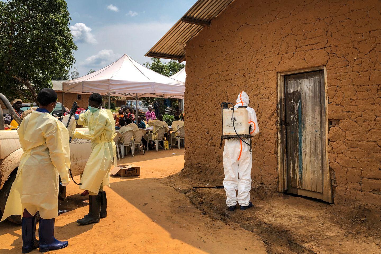 Første tilfelle av ebola i storbyen Goma