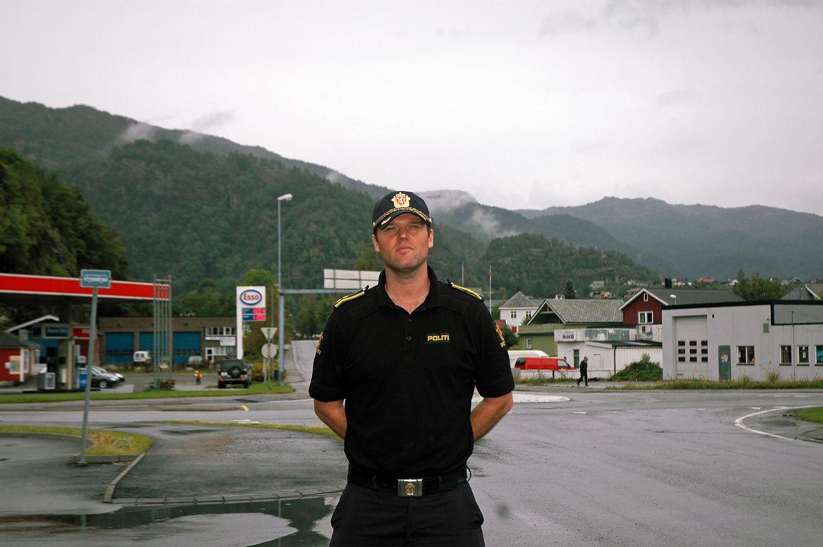 Politioverbetjent Thomas Breivik - Psykopat