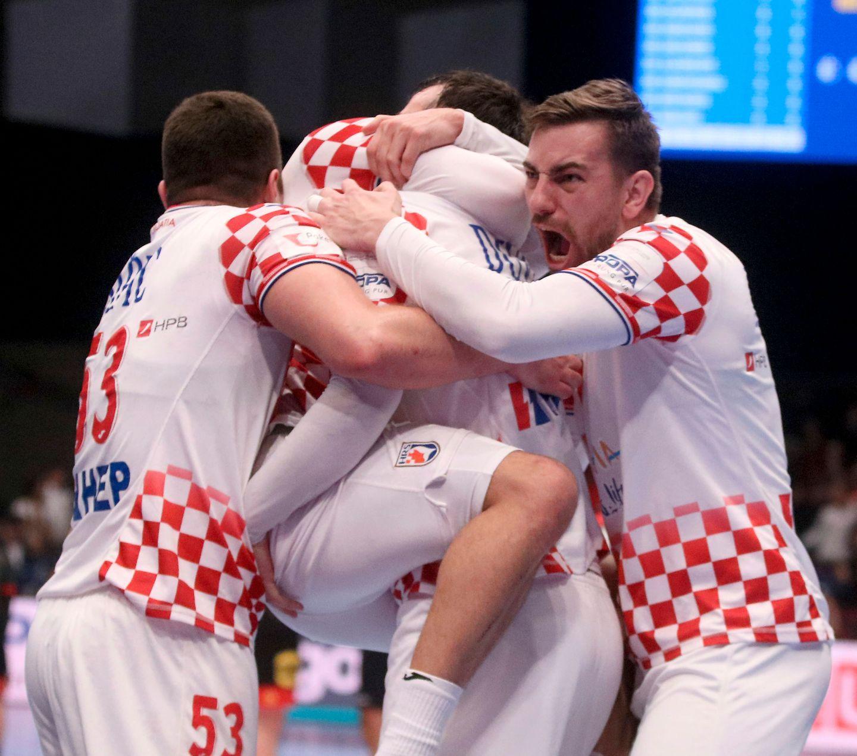 Kroatia til EM-semifinale etter thriller, kan bli Norges motstander