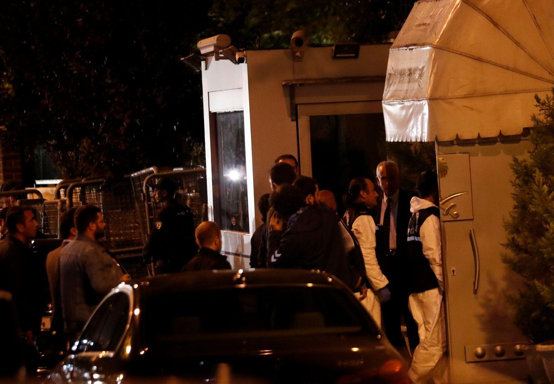 Tyrkisk politi har entret Saudi-Arabias konsulat i Istanbul