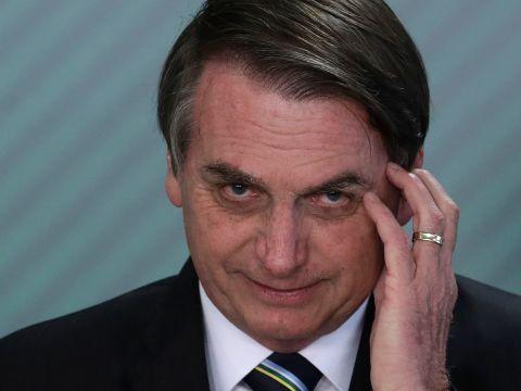 Bolsonaro testes for koronaviruset
