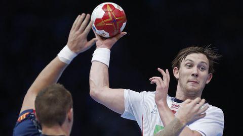 Sander Sagosen og Norge kom til finalen i VM i fjor. Nå skal de forsøke å vinne lagets første gull.