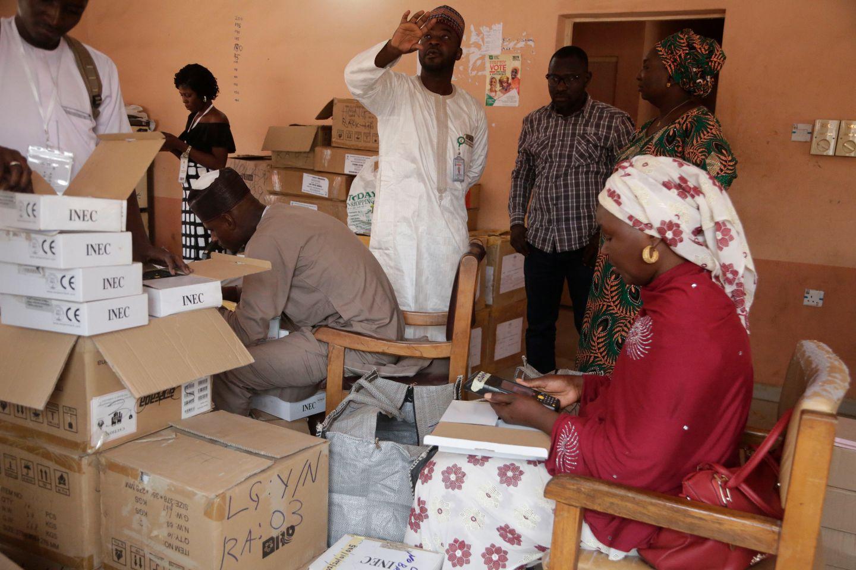 Bomber ryster Nigeria på valgdagen