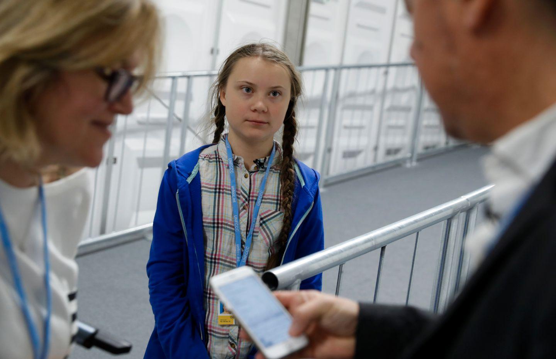 Greta (15) talte under klimaforhandlingene i Polen. Kaller verdenslederne umodne hyklere.