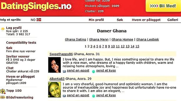 ghana dating damer